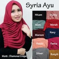 Jual Jilbab Instan kerudung Hijab Syria Ayu Murah