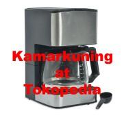 EMERIO ALAT PEMBUAT KOPI 0,8 LITER - SILVER | Coffee maker
