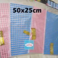 Jual Plastik 50x25cm Kantong Bingkisan Ultah Polkadot Murah
