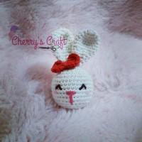 Pretty Bunny with floppy ears - Crochet Pattern - Amigurumi Today | 200x200
