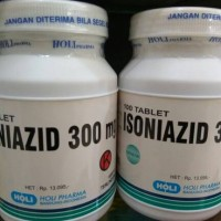 INH 300 mg (isoniazid) isi 100 tablet
