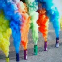 smoke bomb/pipa asap 5 warna