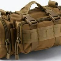 TAS SELEMPANG SLEMPANG ARMY MILITER TENTARA GUNUNG OUTDOOR YF01