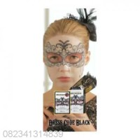 HITAM Dress Code Black Mediheal Masker Korea (Per Buah)