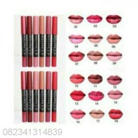 ECER NO 9 KISS PROOF LIPSTICK Matte Longlasting By Menow / Me Now