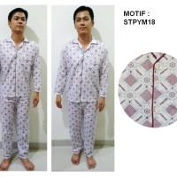 Piyama Laki Motif STPYM18/ Baju Tidur Pria