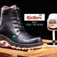 harga Sepatu Pria Kickers Riley Boots Made In France Asli Import Tokopedia.com