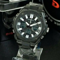 Jam Tangan Digitec Original DG-3036 Full Black