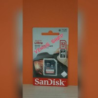 SANDISK SD CARD SDHC 32GB 48MB / S - SDCARD 32 GB 48 MBPS CLASS 10
