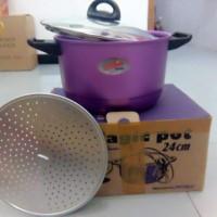 Harga dandang panci kukusan magic pot 24 | antitipu.com