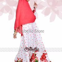 ADARRA WHITE BY ORIBELLE HIJAB STYLE