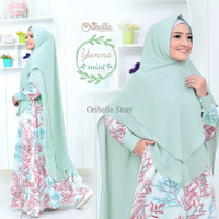 YUNNA DRESS BY ORIBELLE HIJAB STYLE