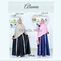 gamis ALLONA BY ORIBELLE