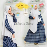 gamis FLANELLA By Oribelle Hijab Style