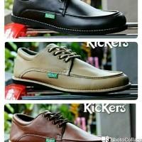 Sepatu Kickers Casual / Sepatu Kulit Lak / Sepatu Formal / Sepatu Kerja