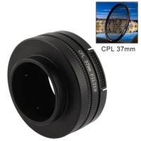 B026 CPL 37mm Filter Circular Polarizer Lens Filter With Cap For Gopr