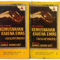 Novel James Bond Agen Rahasia 007 : Kemusnahan Emas/Goldfonger 2 buku