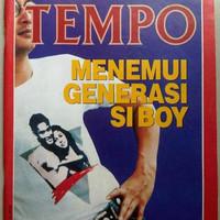 Majalah Tempo lama Desember 1988 : Menemui Generasi Si Boy
