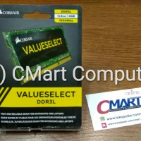 Corsair 4GB DDR3L 1600 MHz SODIMM Memory RAM Laptop CMSO4GX3M1C1600C11