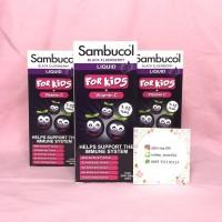 Sambucol Black Elderberry For Kids + Vitamin C 120ml Syrup
