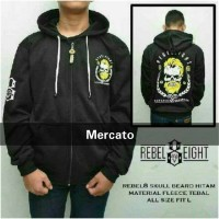 harga Sweater Hoodie Rebel Eight Skull Beard Sweater Pria Sweater Distro Tokopedia.com