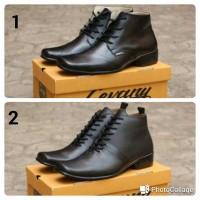 Sepatu Pantofel Kulit Asli / Sepatu Kerja Pria / Sepatu Casual
