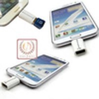 Micro USB On The Go (OTG) / Kabel OTG Micro Usb / White Murah