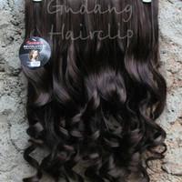 NEW!!! Hair Clip keriting Sosis / Hairclip Keriting Gantung BERKUAL