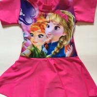 BEST SELLER Baju Renang Anak Perempuan (4 - 5 thn) Motif TERMURAH
