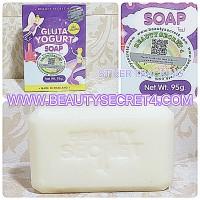 GLUTA YOGURT SOAP by BEAUTY SECRET 4 ( DIJAMIN Bikin Putih )