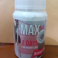 MAX SLIM 7 DAYS 7 KG WEIGHT LOSS ORIGINAL THAILAND