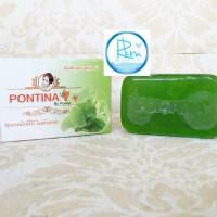 SABUN PONTINA WAJAH HIJAU / GREEN PONTINA SOAP