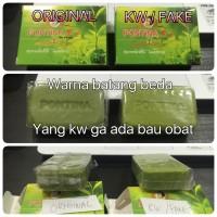Perbedaan PONTINA SOAP KW dan ORIGINAL