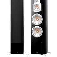 yamaha bass reflek floorstanding speakers ns 777