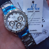 New Jam Casio Sheen Rantai Type 3013,5018 Murah