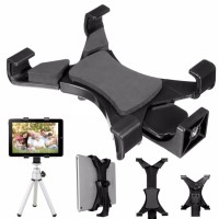 Universal Tablet Holder Mount 1/4 Screw Bracket Tripod / Stand iPad HP