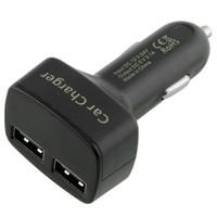 Dual USB Car Charger + LED Display - Mobil Berkualitas