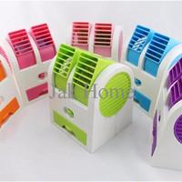 SPECIAL Buy 1 Get 1 [ Promo ] Ac Mini Double Fan Portable Blower Kipas