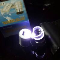 Microskop 60x batu cincin mini||Mikroskop 60x|| Kaca pengbesar