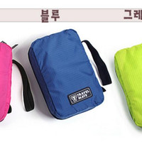 Travel Mate Toilet Organizer Bag(Tas Travelling) korea style organizer