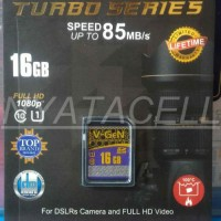 Memory Vgen SD Card 16GB Class 10 Turbo / SDHC / UHS-1 / Memori / Kelas / 16 GB