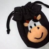 (BARU) Dompet Sapi- kantong - Lucu imut - kado - hadiah - souvenir -