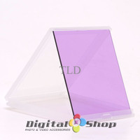 Purple Color Square Filter With Filter Box Case For Cokin P Series