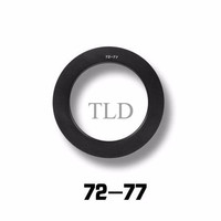 72mm-77mm Metal Adapter Ring For BAVA Filter Holder 4x6in