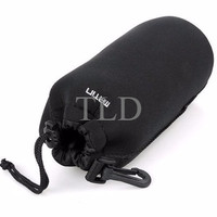 Camera Bag MATIN Neoprene Soft Camera Lens Case Pouch - Large Size (L)
