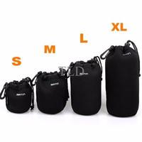 Camera Bag MATIN Neoprene Soft Camera Lens Case Pouch - Medium Size (M