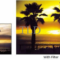 TIANYA Graduated YELLOW Filter (Cokin P-size Compatible)