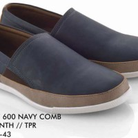 Slip On Pria DF 600 Navy