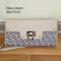 dompet wallet tas bag branded asli authentic original 100% Dkny clutch