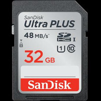 SanDisk SD Card 32GB Ultra / SDHC UHS-I Card / SDCard 48MB / S ORIGINAL